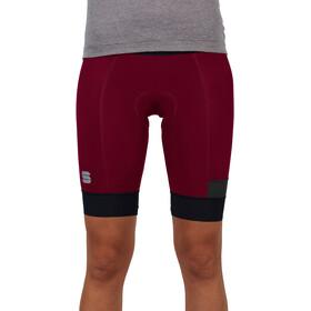 Sportful Giara Pantaloncini Donna, rosso